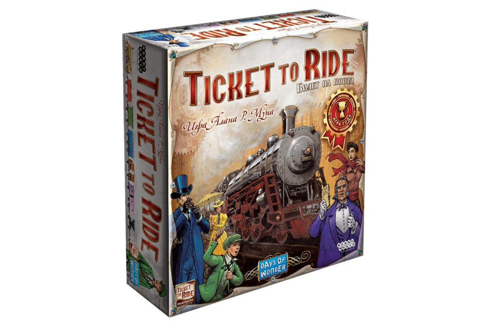 Настольная игра Билет на поезд (Ticket to Ride): Америка