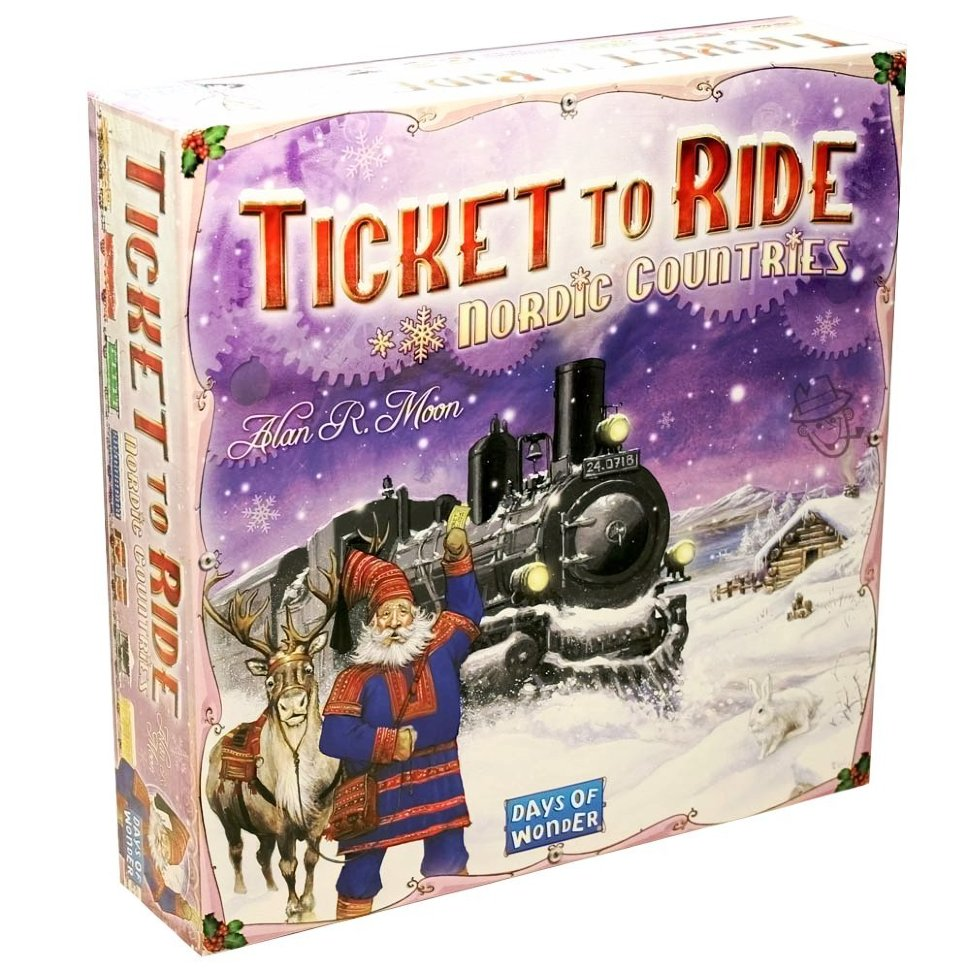 Настольная игра Билет на поезд (Ticket to ride): Северные страны