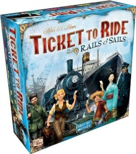 Билет на поезд Рельсы и паруса Ticket to ride Rails and sails