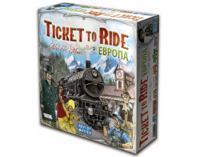 Настольная игра Билет на поезд (Ticket to Ride): Европа