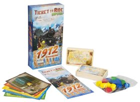 Настольная игра Билет на поезд (Ticket to Ride): Европа 1912